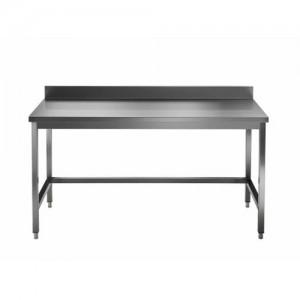 Delovna miza brez spodnje police z zadnjim robom