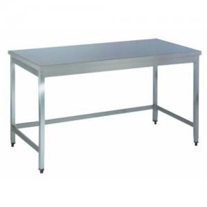 Delovna miza brez spodnje police