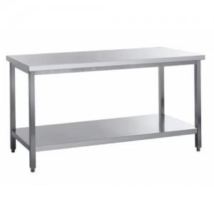 Delovna miza s spodnjo polico