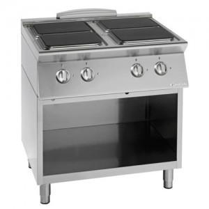 Električni štedilnik UNIKA 700 s kuhalnimi ploščami CE74QG