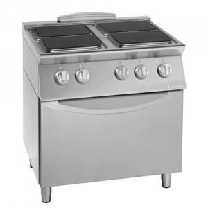 Električni štedilnik s kuhalnimi ploščami in konvekcijsko pečico UNIKA 900 CE94QE