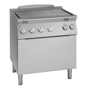 Električni štedilnik s ploščami in konvekcijsko pečico UNIKA 900 TE940E